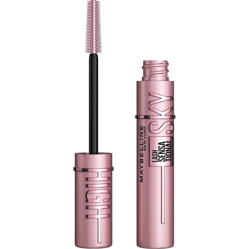 """<p><strong>Product:</strong> <span>Maybelline Sky High Washable Mascara </span> ($9) </p> <p><strong>Customer Review:</strong> """"This mascara lengthens your lashes so well, it looks like you have on false lashes. Maybelline has some of the best affordable mascaras and this one does not disappoint. The mascara did not flake or smudge on me at all. I put it on in the morning (including bottom lashes) and wore it until 11:00pm and it still looked great. This will be my new holy grail mascara at such an affordable price. """"</p>"""
