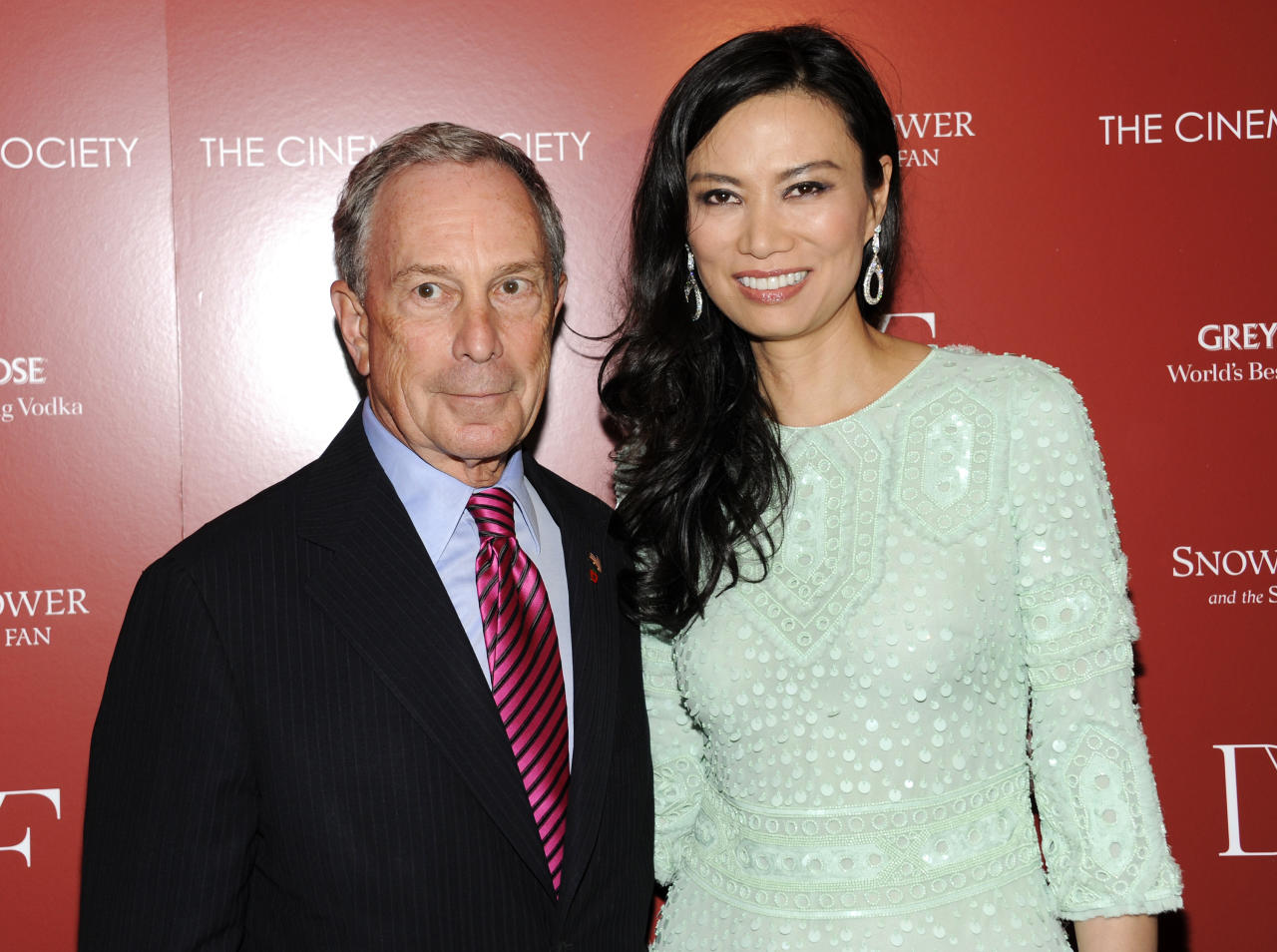 New York Mayor Michael Bloomberg and producer Wendi Murdoch attend a special screening of 'Snow Flower and the Secret Fan' hosted by the Cinema Society at the Tribeca Grand Hotel on Wednesday, July 13, 2011 in New York. (AP Photo/Evan Agostini)