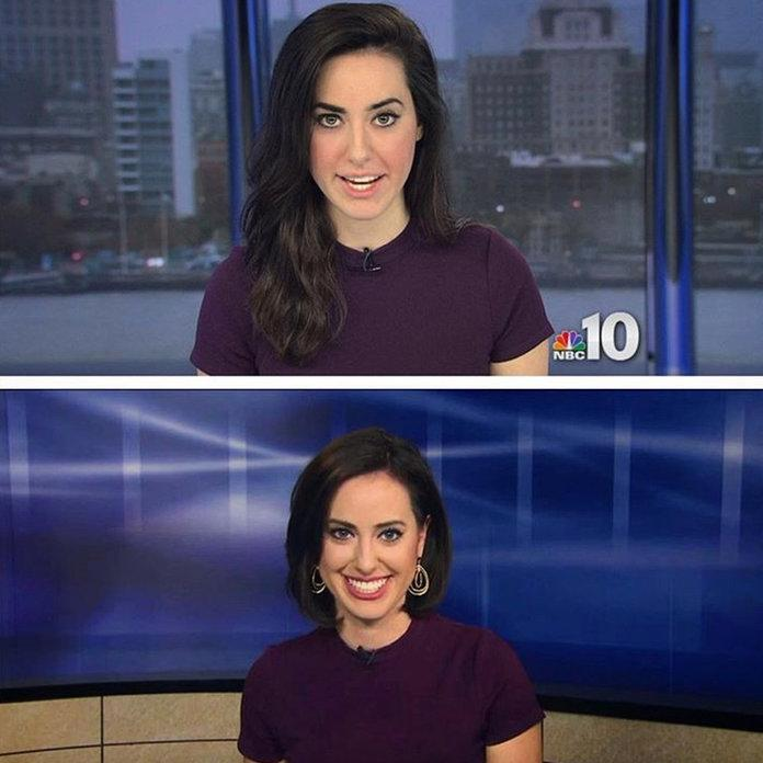 Why 95 8% of Female Newscasters Have the Same Hair