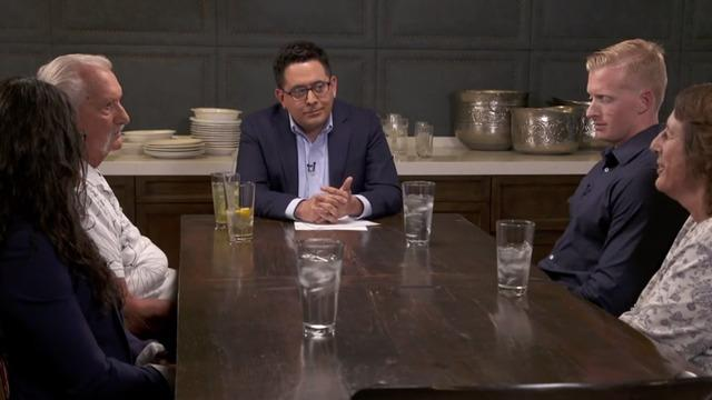 Four Arizona voters -- two Republicans, two Democrats -- sat down with CBS News' Ed O'Keefe for a discussion on politics and immigration.