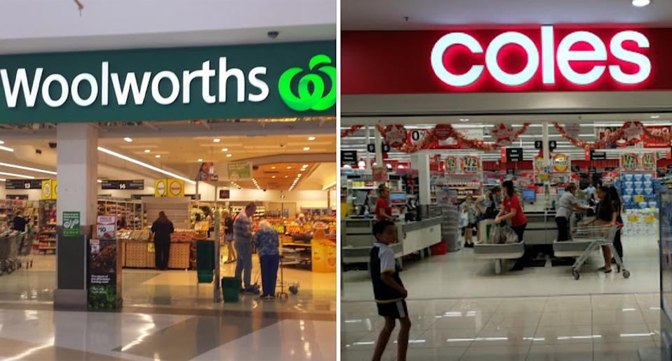 Woolworths and Coles stores across Queensland regional towns will have to close for four days over Christmas. Source: Google Maps
