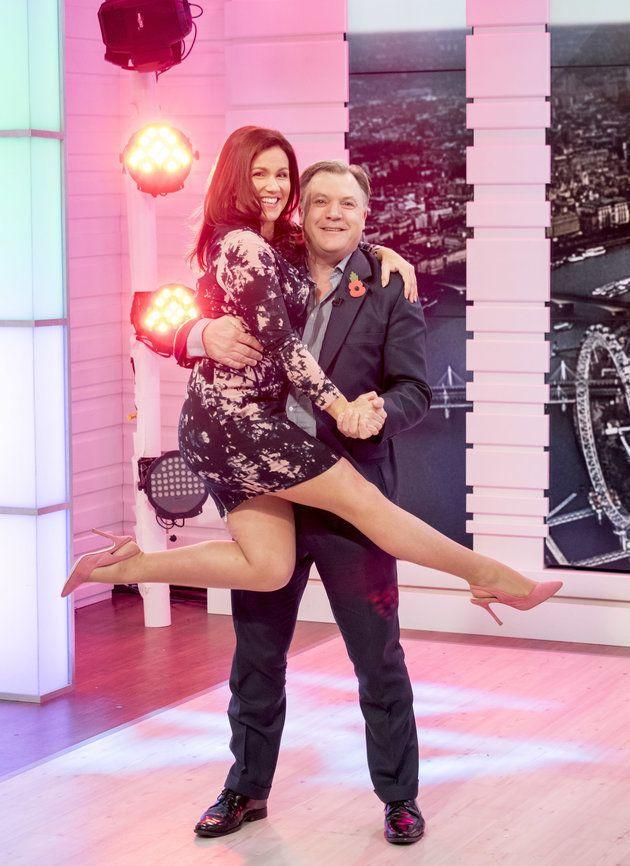 "Ed Balls' time on 'Strictly Come Dancing'&nbsp;will go down in TV history - though perhaps not for the right reasons.&nbsp;<br /><br />This didn't bother Susanna though, <a href=""http://www.huffingtonpost.co.uk/entry/strictly-come-dancing-ed-balls-susanna-reid_uk_5819c542e4b0e43b59acc509?utm_hp_ref=good-morning-britain"">who proved she's a lot braver than us by letting the former MP attempt a dance lift with her</a>.&nbsp;"