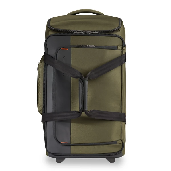 """<h2>Best Roomy Rolling Duffle </h2><br><h3>Briggs & Riley Medium Upright Duffle</h3><br>Briggs & Riley's Upright Rolling Duffle combines the roominess of a duffle with the convenience of wheels. It even features its' patented Outsider® handle which means no bump bars inside the bag — aka even more packing space.<br><br><strong>The Hype:</strong> 4.8 out of 5 stars and 8 reviews<br><br><strong>Out Of Towners say:</strong> """"Bought for a College graduation present — Grandson loves it. Amazing design, a place for everything including laundry."""" <br><br><em>Shop <strong><a href=""""https://fave.co/3uvJOu7"""" rel=""""nofollow noopener"""" target=""""_blank"""" data-ylk=""""slk:Briggs & Riley"""" class=""""link rapid-noclick-resp"""">Briggs & Riley</a></strong></em><br><br><strong>Briggs & Riley</strong> Medium Upright Duffle, $, available at <a href=""""https://go.skimresources.com/?id=30283X879131&url=https%3A%2F%2Fwww.briggs-riley.com%2Fcollections%2Frolling-duffle-bags%2Fproducts%2Fmedium-upright-duffle-zxuwd127"""" rel=""""nofollow noopener"""" target=""""_blank"""" data-ylk=""""slk:Briggs & Riley"""" class=""""link rapid-noclick-resp"""">Briggs & Riley</a>"""