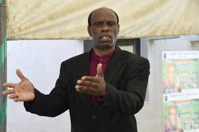 Former AC Milan and Inter Milan defender Taribo West is now a preacher in Nigeria and says corruption is killing football in his homeland (AFP Photo/PIUS UTOMI EKPEI)