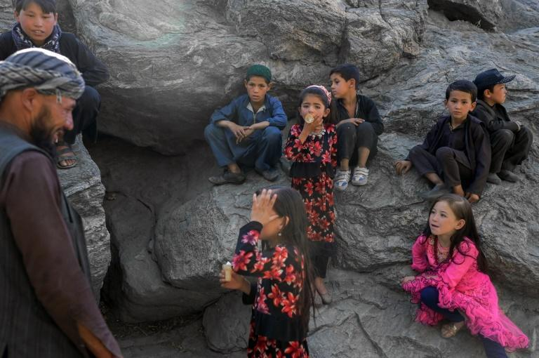 The zoo was long a haven for women, children and young lovers in a capital that has little public space for anyone but men (AFP/BULENT KILIC)