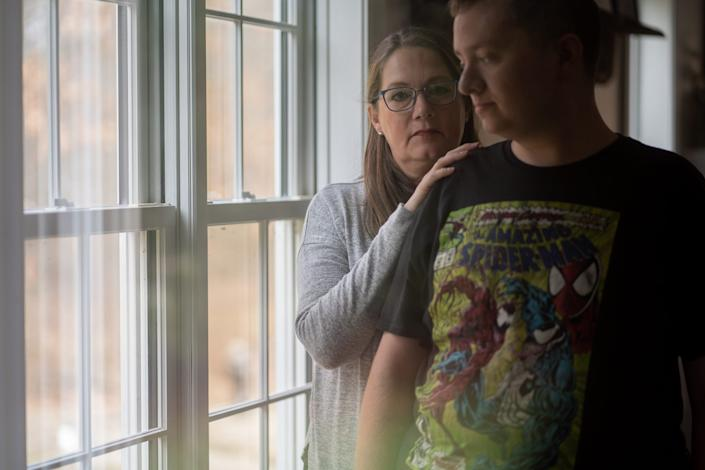Pam Warfle is thankful her son, Jonathan, is recovering from a bout of COVID-19.