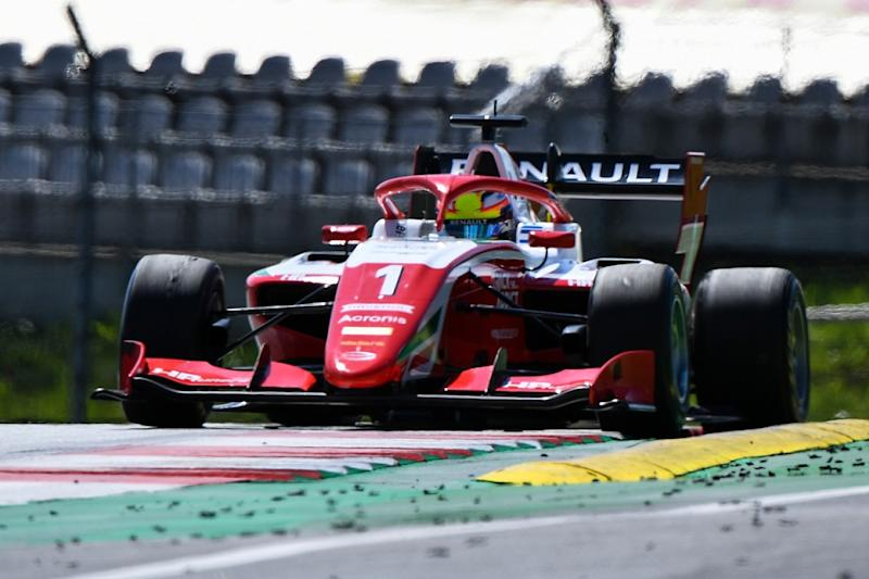 Reigning Formula Renault Eurocup champion Oscar Piastri survived a first-corner collision to get his FIA Formula 3 campaign off to a perfect start wit
