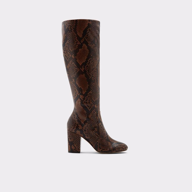 Aloessa Brown Knee-high Boots