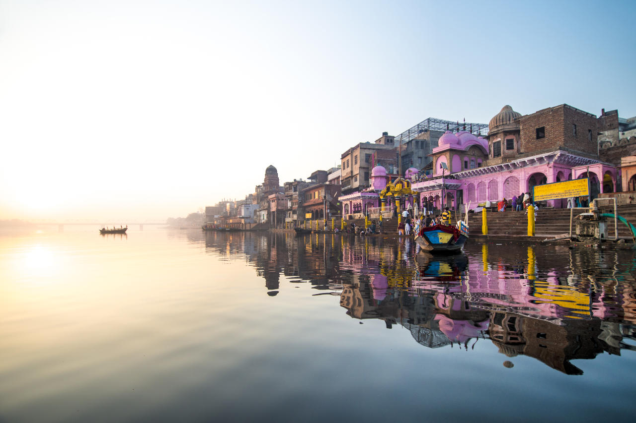 """Flowing for an incredible 1,569 miles from the Himalayas through India and Bangladesh, the Ganges is one of the most sacred rivers for Hindus. Deciding which section of its vast length to tackle – including whether to go for the Upper or Lower Ganges – will be your first challenge. <a href=""""https://www.pandaw.com/"""">Pandaw</a> has a nine-night sailing along the Lower Ganges from £1,834pp, departing on March 8 2020. You'll stop to see some of Bengal's fascinating terracotta temples on cycle rickshaws and stroll through the sleepy village of Barangar – rural india at its most idyllic. <em>[Photo: Getty]</em>"""