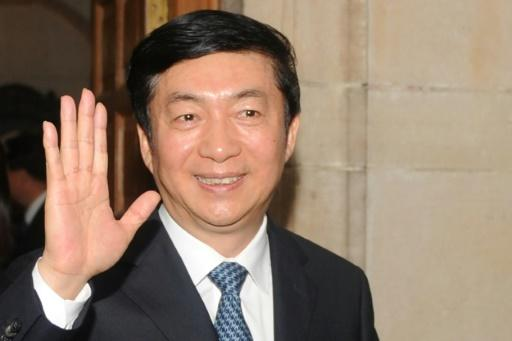 Luo Huining (pictured) has replaced Wang Zhimin as China's top envoy to Hong Kong