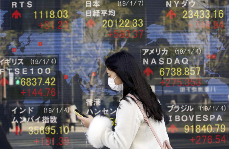 Stock markets lose shine as focus turns to US-China tensions