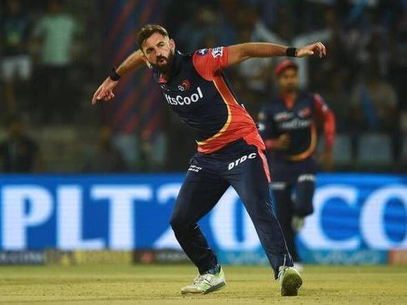 Liam Plunkett played for DD as the replacement for Kagiso Rabada in IPL 2018