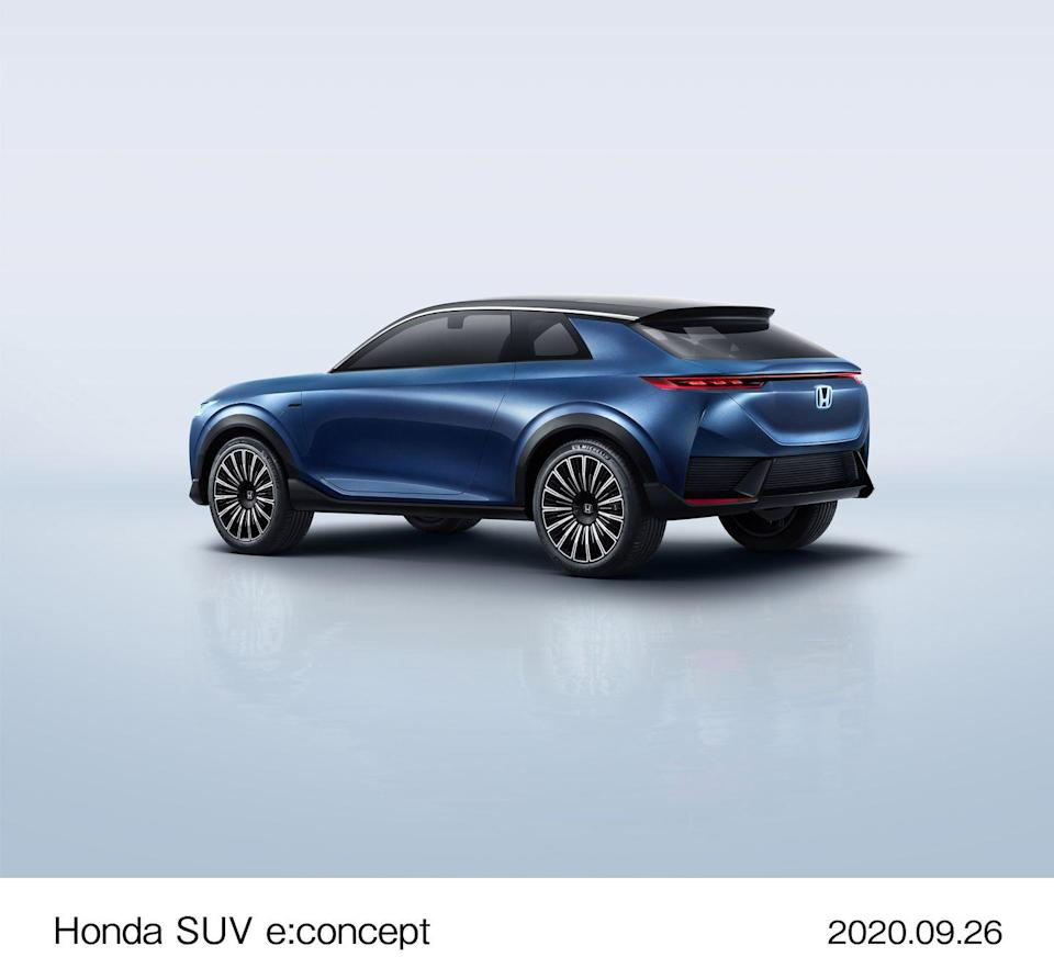 """<p>A <a href=""""https://www.caranddriver.com/news/a35141150/gm-honda-acura-electric-car-building-plans/"""" rel=""""nofollow noopener"""" target=""""_blank"""" data-ylk=""""slk:Honda EV"""" class=""""link rapid-noclick-resp""""><strong>Honda</strong> EV</a> built in partnership with GM, reportedly a crossover, is expected to enter production. (Pictured: <a href=""""https://www.caranddriver.com/news/a34192464/honda-ev-suv-concept-china/"""" rel=""""nofollow noopener"""" target=""""_blank"""" data-ylk=""""slk:the SUV e:concept"""" class=""""link rapid-noclick-resp"""">the SUV e:concept</a> Honda displayed at the Beijing auto show in 2020.)</p><p><strong>Mazda</strong> plans to show at least two plug-in hybrids by the end of the year. <br></p><p><strong>Nissan</strong> plans to have launched eight EVs by the end of the year and hopes to be on pace to sell 1 million hybrid or electric vehicles per year globally. <br></p>"""