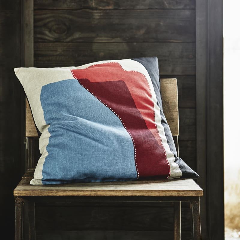 Hantverk cushion cover, $14.90, available from Oct 2019. (PHOTO: Ikea Singapore)
