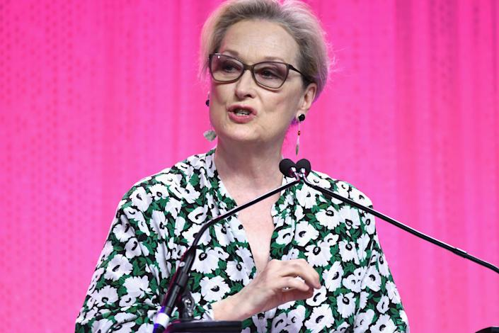 """<a href=""""https://www.huffingtonpost.com/entry/meryl-streep-harvey-weinstein_us_59db5d87e4b072637c45420e"""" rel=""""nofollow noopener"""" target=""""_blank"""" data-ylk=""""slk:Meryl Streep told HuffPost"""" class=""""link rapid-noclick-resp"""">Meryl Streep told HuffPost</a> that the women who came forward about Weinstein's behavior&nbsp;are """"heroes.""""<br><br>&ldquo;The disgraceful news about Harvey Weinstein has appalled those of us whose work he championed, and those whose good and worthy causes he supported,"""" she said in a statement.&nbsp;"""