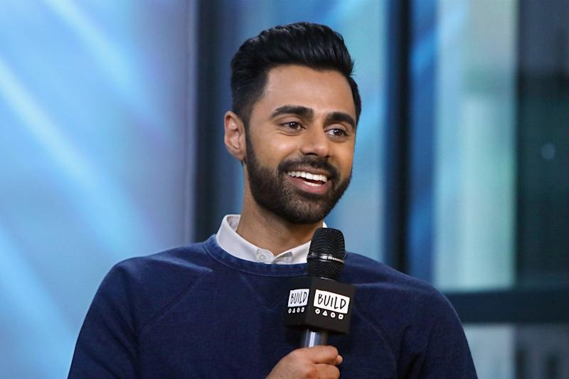 """Hasan Minhaj, host of Netflix's """"Patriot Act,"""" stresses the need to teach kids messages of empowerment, diversity and inclusion. (Jim Spellman via Getty Images)"""