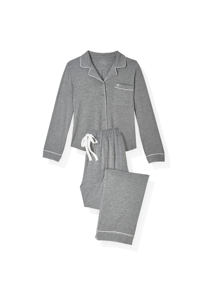 """<p>I'm a fan of anything that feels like a second skin. These pajamas' sustainable, responsibly sourced bamboo fabric doesn't just feel amazing—it's breathable and helps regulate body temperature.</p><p><em>Originally $129, now 20 percent off with code """"OPRAH"""" at <a href=""""https://cozyearth.com/"""" target=""""_blank"""">cozyearth.com</a></em></p><p>OR:</p><p><a class=""""body-btn-link"""" href=""""https://www.amazon.com/dp/B07ZS73WXD?tag=syn-yahoo-20&ascsubtag=%5Bartid%7C10072.g.29700361%5Bsrc%7Cyahoo-us"""" target=""""_blank"""">Shop Amazon</a></p>"""