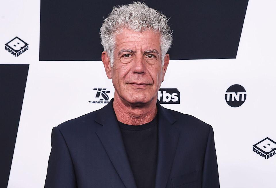 """<p>Bourdain's nonfiction book, <a href=""""https://www.amazon.com/Kitchen-Confidential-Updated-Adventures-Underbelly/dp/0060899220?tag=syn-yahoo-20&ascsubtag=%5Bartid%7C2139.g.35075074%5Bsrc%7Cyahoo-us"""" rel=""""nofollow noopener"""" target=""""_blank"""" data-ylk=""""slk:Kitchen Confidential: Adventures in the Culinary Underbelly"""" class=""""link rapid-noclick-resp"""">Kitchen Confidential: Adventures in the Culinary Underbelly</a>, stemmed from an article that was originally published in <em>The New Yorker. </em>After it landed on <em>The </em><em>New York Times</em> bestseller list, he penned two more that also made the cut in 2001 and 2006. More recently, Bourdain co-wrote a graphic novel, <em>Get Jiro!</em>, as well as <em>Appetites</em>, a cookbook.</p>"""