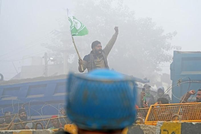 The farmers protest is potentially the trickiest challenge yet to Indian Prime Minister Narendra Modi's authority
