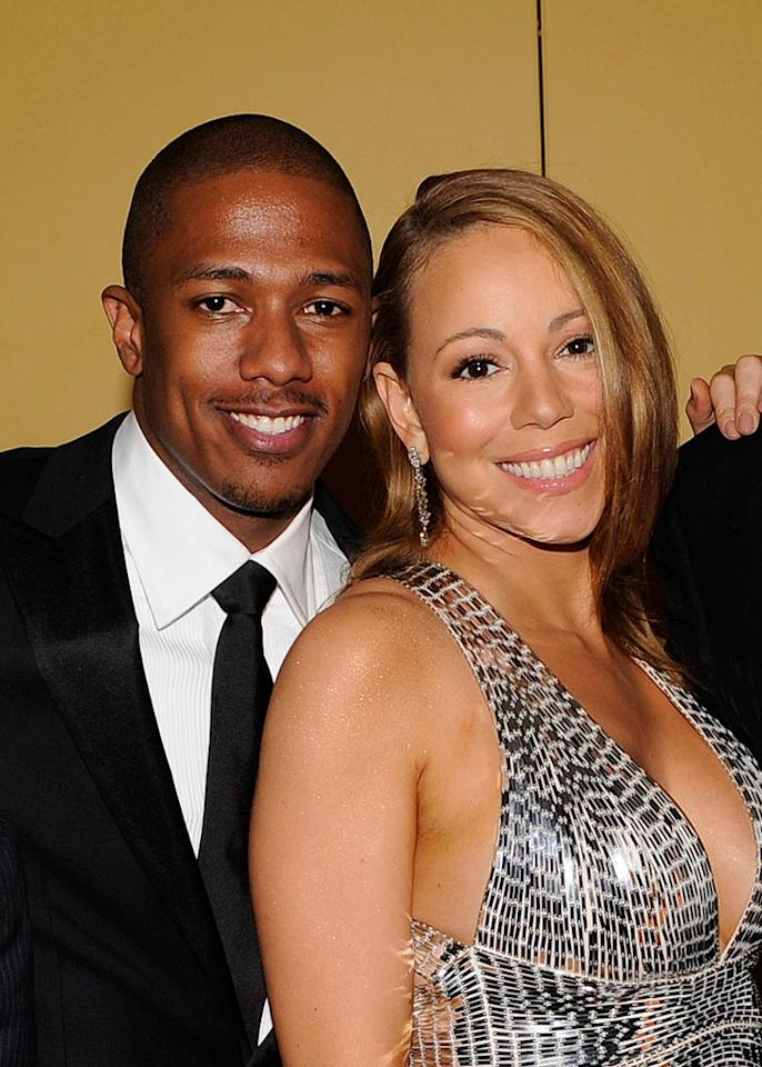 "Newlyweds Nick Cannon and Mariah Carey made their first public appearance at Time magazine's ""100 Most Influential People in the World"" party Thursday night. The songstress was also one of the night's honorees. Larry Busacca/<a href=""http://www.wireimage.com"" in NYC since secretly getting hitched last weektarget=""new"">WireImage.com</a> - May 8, 2008"