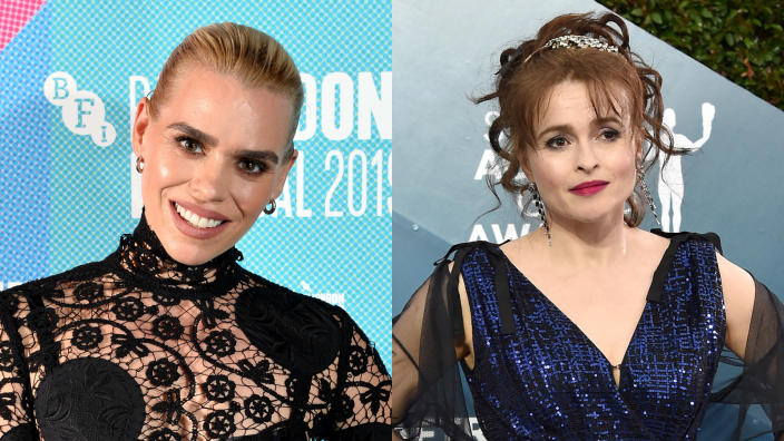 Billie Piper wants Helena Bonham Carter to step up as the next 'Doctor Who' leading lady. (Jeff Spicer/Getty/BFI/Axelle/Bauer-Griffin/FilmMagic)