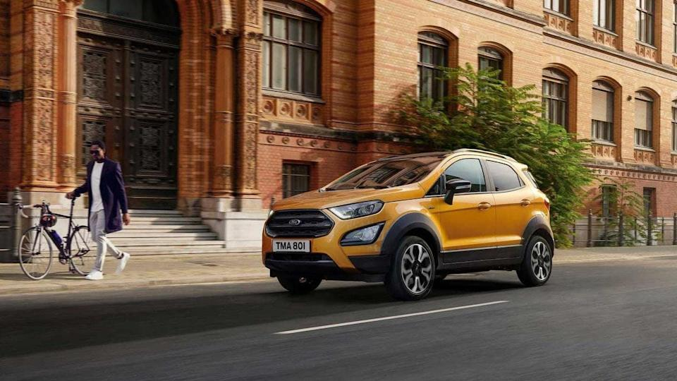 Ford EcoSport Active SUV breaks cover: Details here