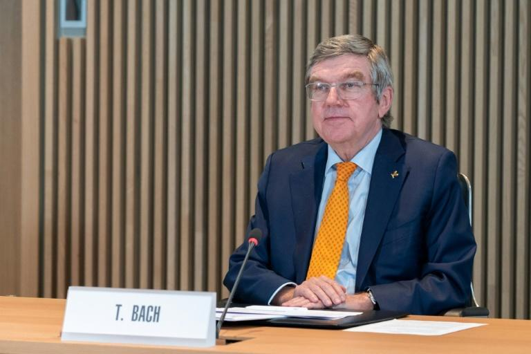 """IOC president Thomas Bach said he would not """"lose time or energy"""" on speculation that the Tokyo Olympics will be cancelled"""