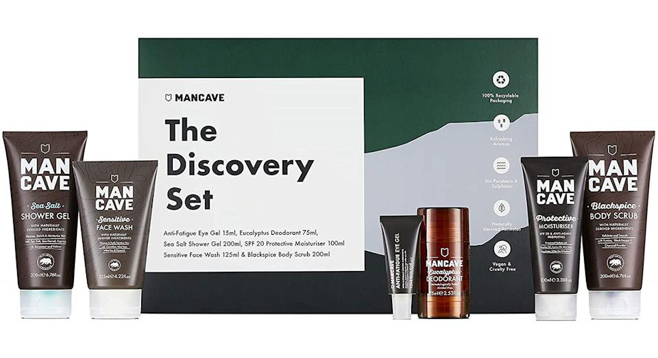 ManCave Discovery Gift Set