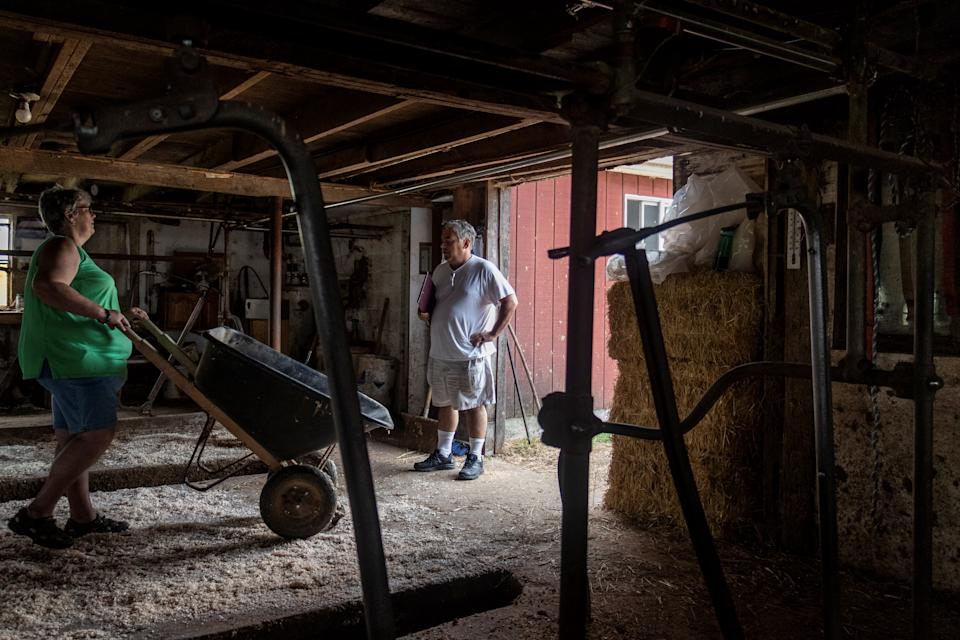 Farmers are unable to obtain USDA data or FSA loans because of the shutdown. (Photo: REUTERS/Oliver Doyle)