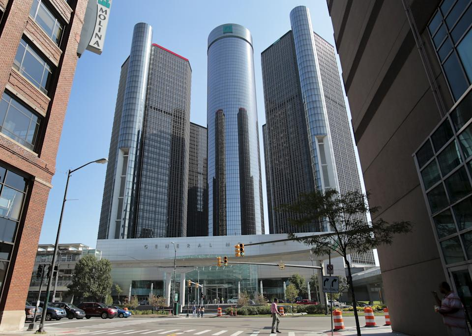 General Motors Co. headquarters is seen in Detroit, Michigan, September 17, 2015.   REUTERS/Rebecca Cook
