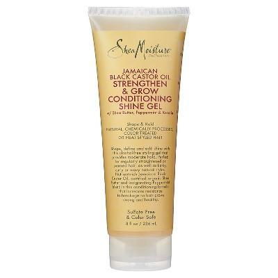 "<h3><strong>SheaMoisture</strong> Strengthen & Grow Conditioning Shine Gel</h3> <br><strong>Best For Baby Hairs</strong><br><br>A-list celeb hairstylist <a href=""https://www.instagram.com/marciahamilton/?hl=en"" rel=""nofollow noopener"" target=""_blank"" data-ylk=""slk:Marcia Hamilton"" class=""link rapid-noclick-resp"">Marcia Hamilton</a> <a href=""https://www.refinery29.com/en-us/2017/11/180025/natural-hair-products-fall#slide-1"" rel=""nofollow noopener"" target=""_blank"" data-ylk=""slk:recommends"" class=""link rapid-noclick-resp"">recommends</a> this castor oil-packed leave-in conditioner/shine gel hybrid for smoothing and adding definition. ""I really love this gel for shaping all baby hairs,"" she says. ""It's alcohol-free and sulfate-free, so it doesn't cause dryness. Plus, it leaves a really nice shine.""<br><br><strong>SheaMoisture</strong> Strengthen & Grow Conditioning Shine Gel, $, available at <a href=""https://go.skimresources.com/?id=30283X879131&url=https%3A%2F%2Fwww.target.com%2Fp%2Fsheamoisture-174-jamaican-black-castor-oil-strengthen-grow-conditioning-gel-8-oz%2F-%2FA-49110427"" rel=""nofollow noopener"" target=""_blank"" data-ylk=""slk:Target"" class=""link rapid-noclick-resp"">Target</a><br><br><br>"
