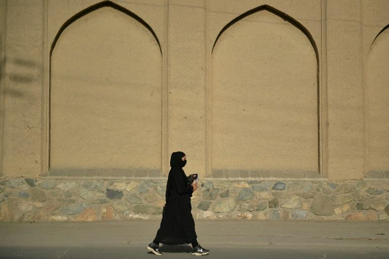 Fears are mounting that women's rights will be crushed in Afghanistan under the Taliban (AFP/Hoshang Hashimi)