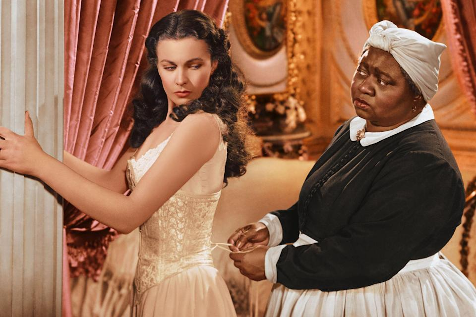 """<p>Segregation wouldn't end in the U.S. until 1954, which meant that, depending on the theater, many African American actors who starred in the film, including Hattie McDaniel (Mammy), Butterfly McQueen (Prissy), Oscar Polk (Pork) and Eddie Anderson (Uncle Peter), were barred from attending public premiers - for the theaters that weren't segregated, the producers discouraged black cast members from attending premiers, on the grounds that it was """"<a rel=""""nofollow noopener"""" href=""""http://news.emory.edu/stories/2014/11/er_gone_with_the_wind_anniversary/campus.html"""" target=""""_blank"""" data-ylk=""""slk:unsafe"""" class=""""link rapid-noclick-resp"""">unsafe</a>.""""</p>"""