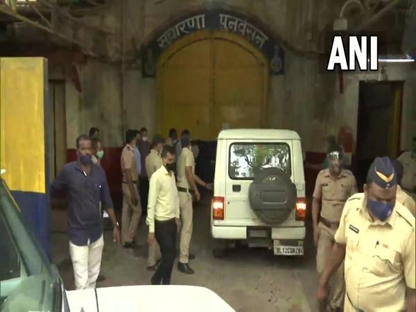 NCB brings Aryan Khan and other accused in the cruise ship drug raid case to Arthur Jail (Photo/ANI)
