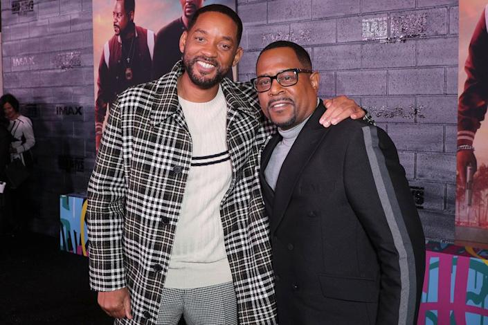 Will Smith and Martin Lawrence | John Salangsang/Variety/Shutterstock