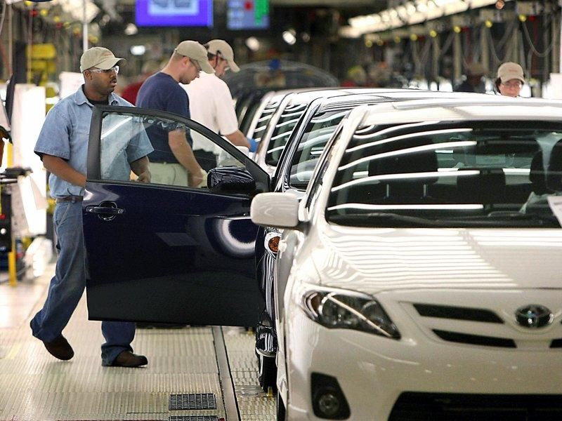 Toyota quarterly profit triples