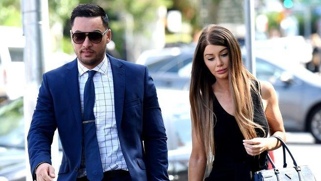 Salim Mehajer and wife Aysha. Source: 7News