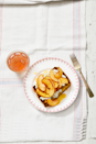 """<p>The Mediterranean diet offers perfect harmony between plants, whole grains, and dairy. What better way to celebrate that balance than with this sweet, sharp toast?</p><p><a href=""""https://www.prevention.com/food-nutrition/recipes/a34075815/nectarine-bruschetta-recipe/"""" rel=""""nofollow noopener"""" target=""""_blank"""" data-ylk=""""slk:Get the recipe from Prevention »"""" class=""""link rapid-noclick-resp""""><strong><em>Get the recipe from Prevention »</em></strong></a></p>"""