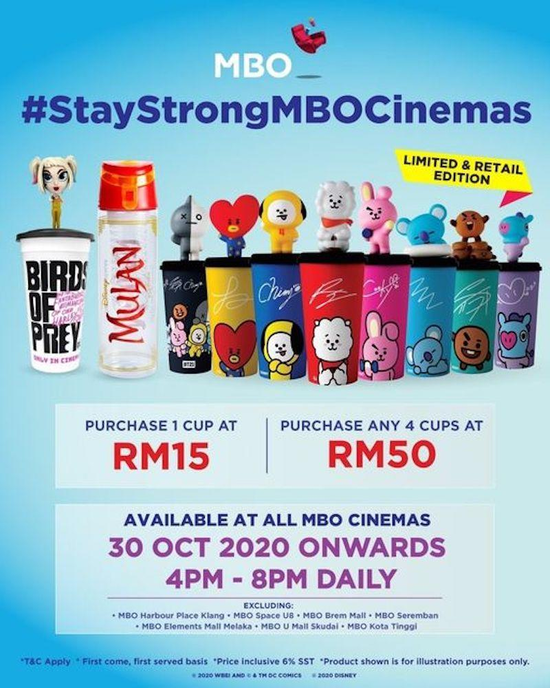 MBO Cinemas' #StayStrongMBOCinemas to help weather the Covid-19 storm. — Photo courtesy of Facebook/MBO Cinemas