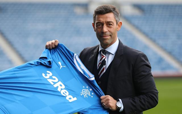 <span>Pedro Caixinha has made an impressive start at Ibrox</span> <span>Credit: Ian MacNicol/Getty Images </span>