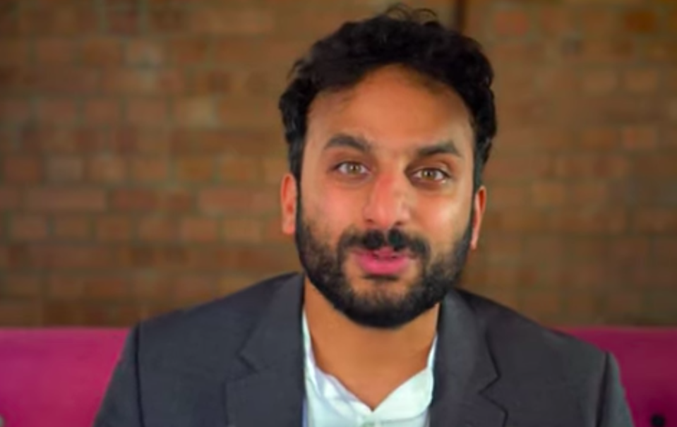 """Horrible Histories Brexit, presented by comedian Nish Kumar, is a glimpse of """"what our European friends have given us over the course of history"""". (CBBC, Youtube)"""