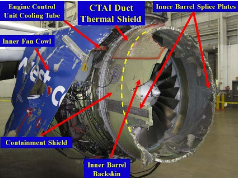 FAA issues directive on fan-blade inspections