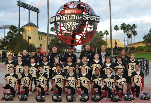 The 2011 Tustin Red Cobras, who reached the Pop Warner Jr. Pee Wee Super Bowl — TustinCobrasFootball.com