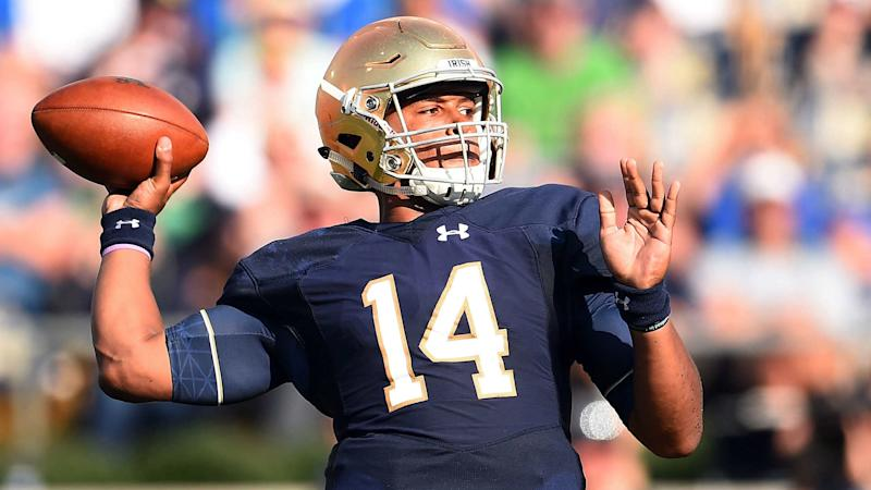 NFL Draft 2017: Patient Browns still get their QB in Notre Dame's DeShone Kizer