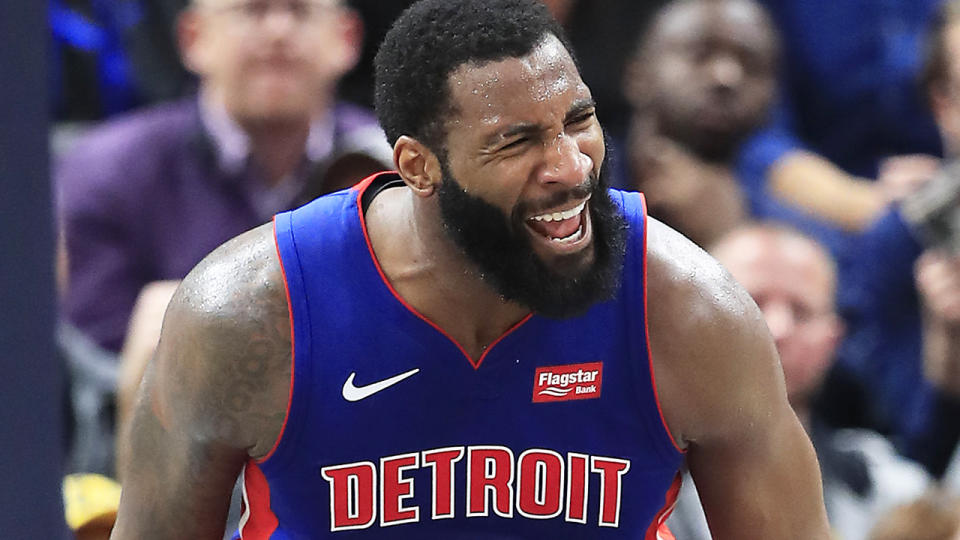Detroit Pistons centre Andre Drummond has been one of the top fantasy performers so far this season, but his production could be impacted by the return of Blake Griffin. (Photo by Andy Lyons/Getty Images)
