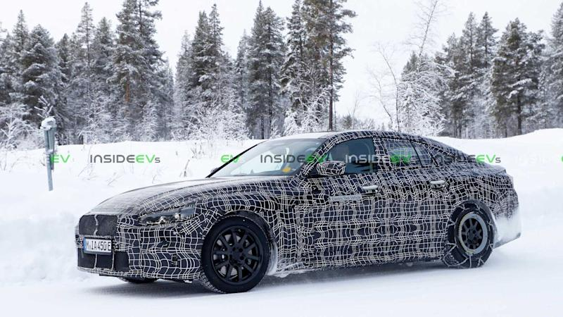 BMW i4 Cold Weather Testing