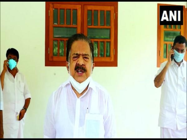 Kerala Opposition leader R Chennithala. (Photo/ANI)