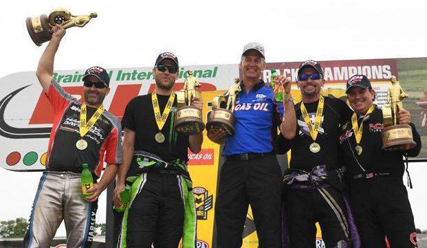 Just one race remains in the NHRA regular season: 2 weeks from now in Indianapolis. After that begins the six-race Countdown to the Championship playoffs.