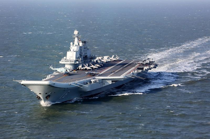 The second-hand, Soviet-era Liaoning is China's only aircraft carrier