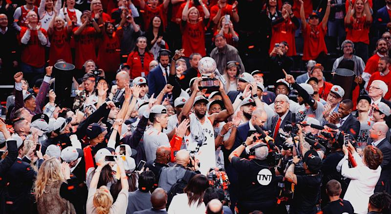Eastern Conference Champions (Kishan Mistry/Yahoo Sports Canada)